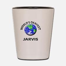 World's Okayest Jarvis Shot Glass