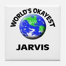 World's Okayest Jarvis Tile Coaster