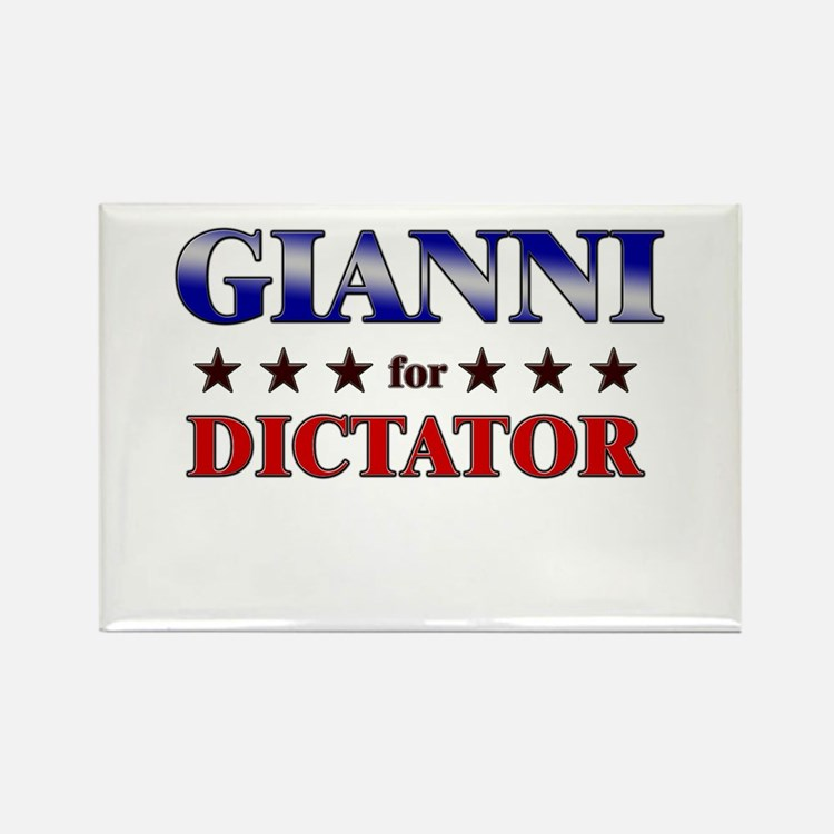 GIANNI for dictator Rectangle Magnet