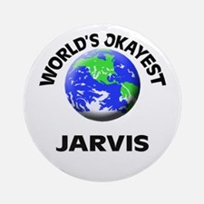 World's Okayest Jarvis Round Ornament