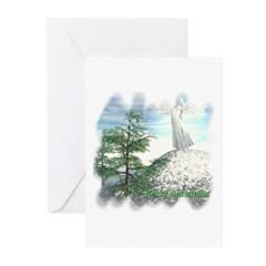 Angel Watch Christmas Cards (Pk of 10)