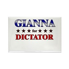 GIANNA for dictator Rectangle Magnet