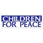 Children for Peace (bumper sticker)