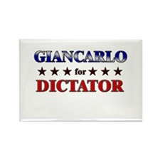 GIANCARLO for dictator Rectangle Magnet