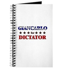 GIANCARLO for dictator Journal