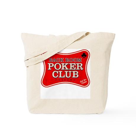 Back Room Poker Club Tote Bag