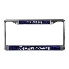 Funky Love Jenday Conure License Plate Frame