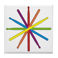 Drumstick Star Tile Coaster