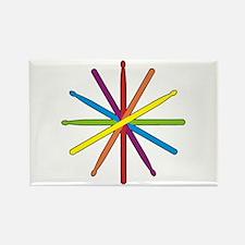 Drumstick Star Rectangle Magnet (10 pack)