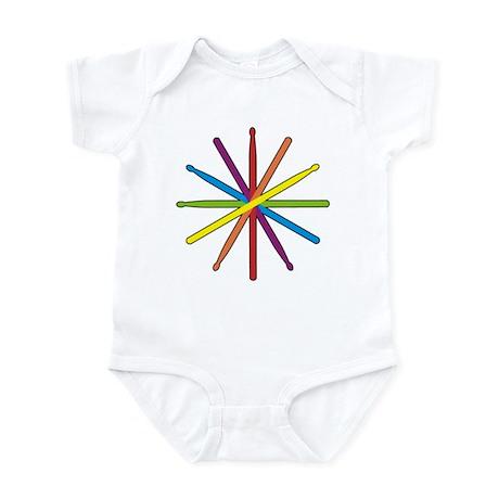 Drumstick Star Infant Bodysuit