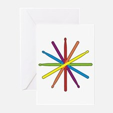 Drumstick Star Greeting Cards (Pk of 20)