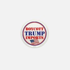 Boycott Trump Imports Mini Button
