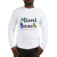 Miami Beach - Long Sleeve T-Shirt