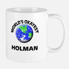 World's Okayest Holman Mugs