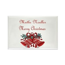 Turkish Christmas Rectangle Magnet (10 pack)