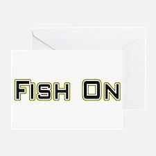 Fish On (2) Greeting Card