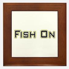 Fish On (2) Framed Tile