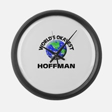 World's Okayest Hoffman Large Wall Clock