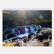 Cool Iceland Wall Calendar