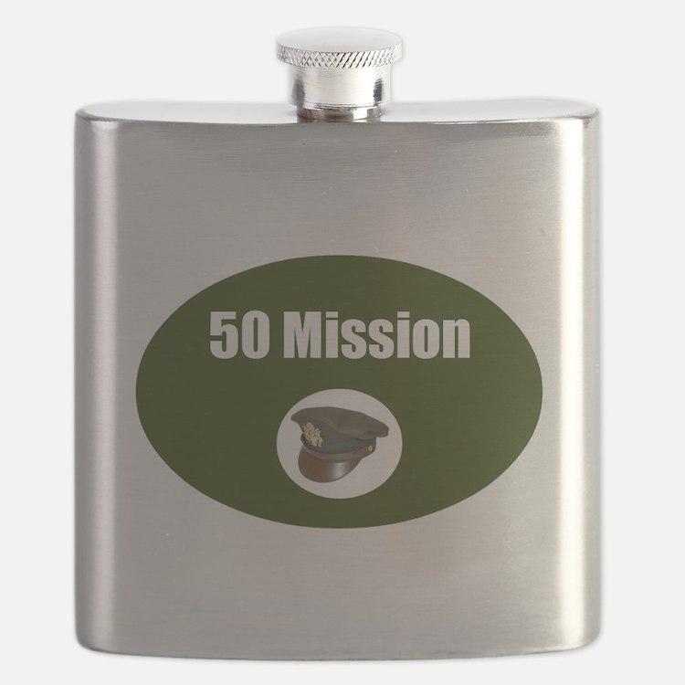 50 Mission Cap Flask