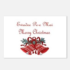Thai Christmas Postcards (Package of 8)