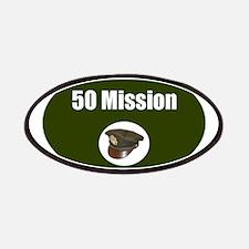 50 Mission Cap Patch