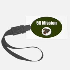 50 Mission Cap Luggage Tag