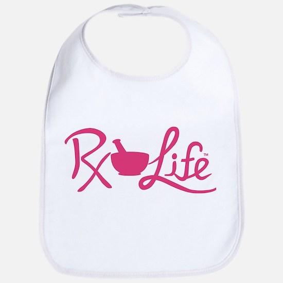 Pink Rx Life Bib