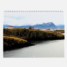 Unique Iceland Wall Calendar