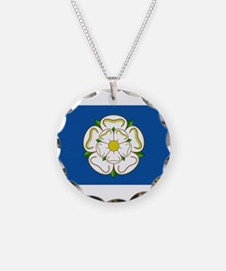 Flag of Yorkshire Necklace