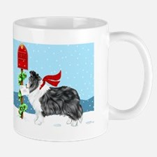 Bi Black Sheltie Mail Mug