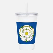 Flag of Yorkshire Acrylic Double-wall Tumbler