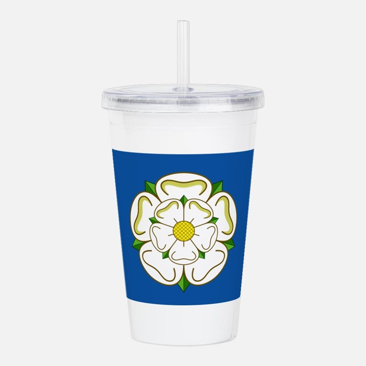 Flag of Yorkshire Acrylic Double-wall Tumbler