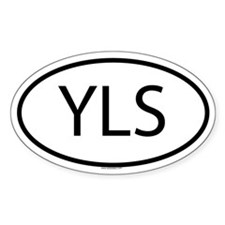 YLS Oval Decal