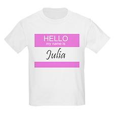Julia Kids T-Shirt