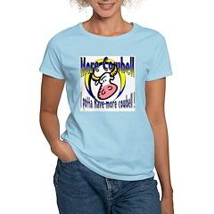 More Cowbell Women's Pink T-Shirt