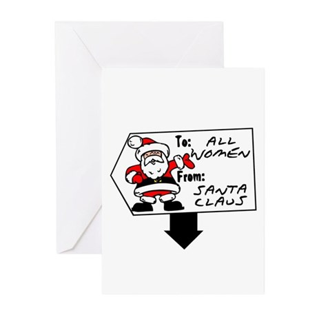 Christmas Gift Greeting Cards (Pk of 10)