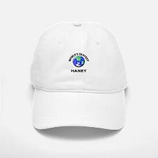 World's Okayest Haney Baseball Baseball Cap