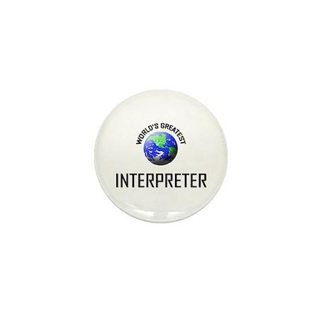 World's Greatest INTERPRETER Mini Button (10 pack)