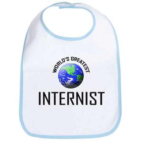 World's Greatest INTERNIST Bib