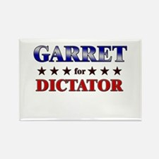 GARRET for dictator Rectangle Magnet