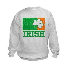 Irish Distressed Sweatshirt