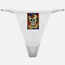 Amor Day of the Dead Skull Classic Thong