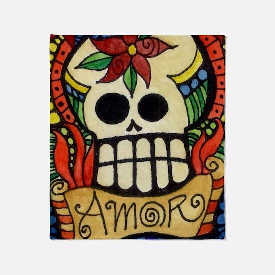 Cute Latino Throw Blanket
