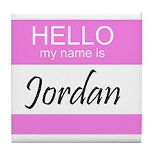 Jordan Tile Coaster