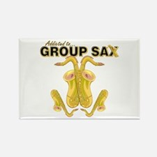 Sax Rectangle Magnet (10 pack)