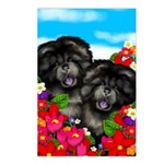 Chow Chw Dogs Postcards (Package of 8)
