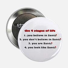 "Santa Stages 2.25"" Button"