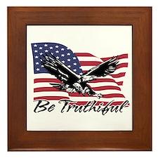 Be Truthiful Framed Tile
