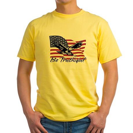 Be Truthiful Yellow T-Shirt